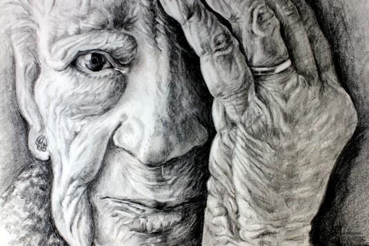 Anciana-dibujo