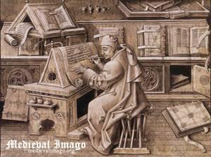 escritor medieval