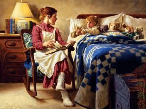 lectura a la noche niño